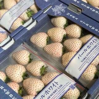 🇯🇵日本直送🍓🍓傳說中既白士多啤梨