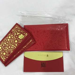 Standard Chartered Private Bank Red Packets Pouch