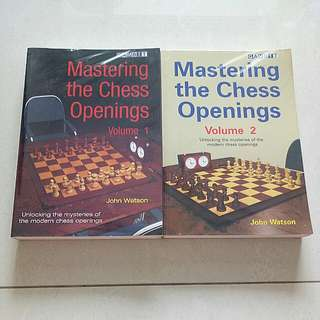 Mastering The Chess Openings Volume 1 And 2 By John Watson
