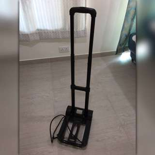 Foldable trolley, 100% in good condition, $20