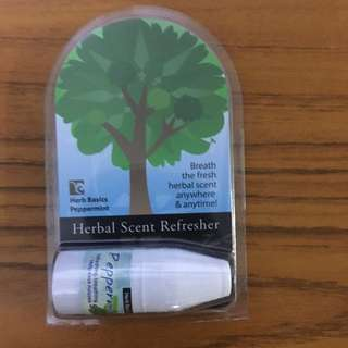 Promotion! Herbal scent refresher, inhaler