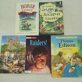 Assorted Books For 6-7 Years Old