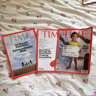 4th Set of TIME Magazine