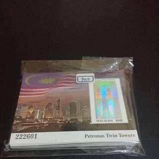 Malaysia Petronas Twin Tower 100pcs RM5 MNH Stamp Bundle