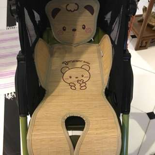 Bamboo stroller pad