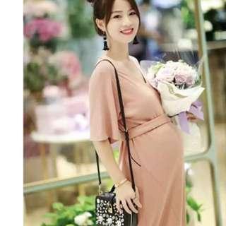 Maternity knit dress