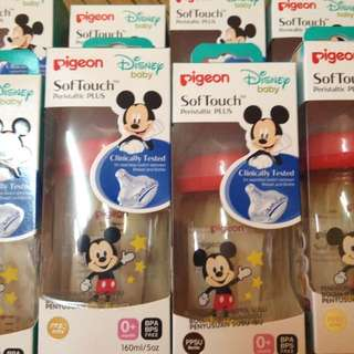 pigeon wideneck ppsu disney edition 5oz/160ml