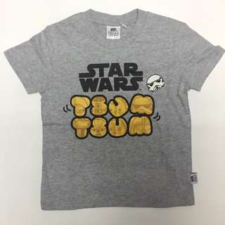 Tsum Tsum Typography Gold Graphic Tee