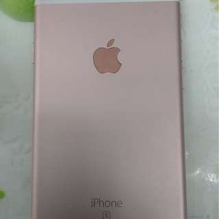 Iphone 6s 64gb rose gold(iphone only)