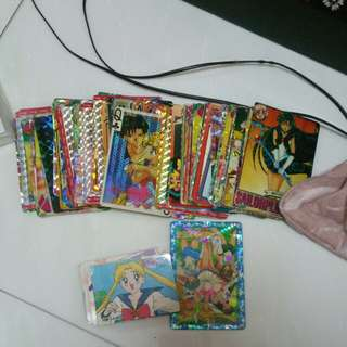 Sailormoon cards collection