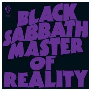 Black Sabbath Master of Reality Vinyl