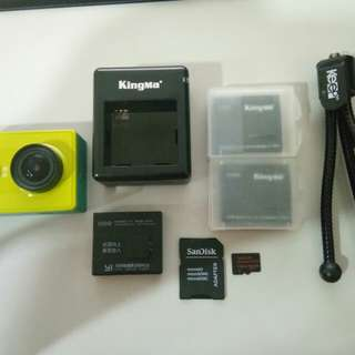Yi Action Camera All In One Package