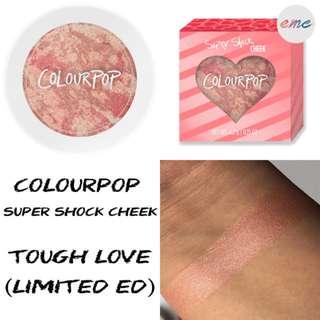 BN Colourpop Tough Love Highlighter Super Shock Cheek