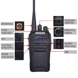 SALE BAOFENG BFUV-6 5W 136-174/400-470MHZ DUAL BAND Radio