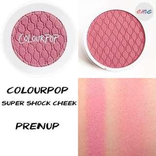 BN Colourpop Super Shock Cheek Blush - Prenup