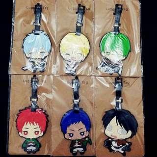 Shingeki no Kyojin Luggage Tags