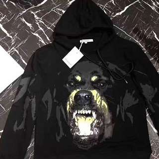 Givenchy dog hoodie