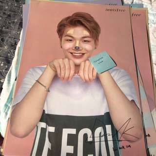 (WTS) WANNAONE Innisfree bromide,poster