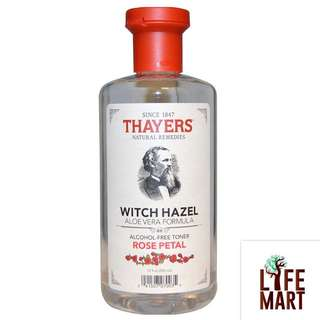 *FREE MAIL* Thayers, Rose Petal, Witch Hazel Alcohol-free Toner