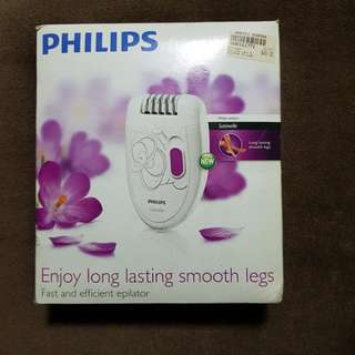 Philips Epilator #huat50sale