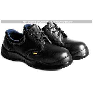 NITTI SAFETY SHOE LOW CUT WITH SHOE LACE 21281