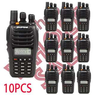 10pcs x BAOFENG UV-B5 Dual Band two way Radio (NOT includes shipping)