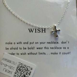 Charming pendant Necklace make a wish