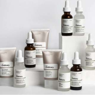 Last call for the ordinary products