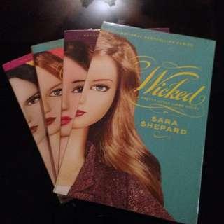 Pretty Little Liars Books 5-8
