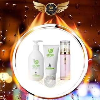 Ginger shampoo , Hair mask , Hair Essential oil
