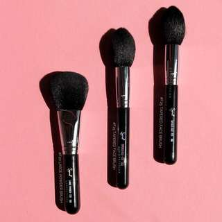 Sigma Beauty F20 F25 Face Brushes