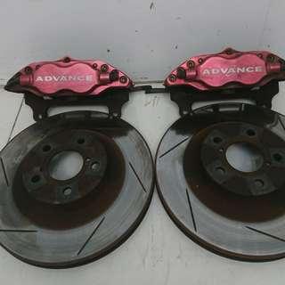Subaru Impreza Calipers and Rotor (AS2056)