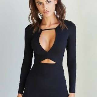 Cut Out Tigermist Dress
