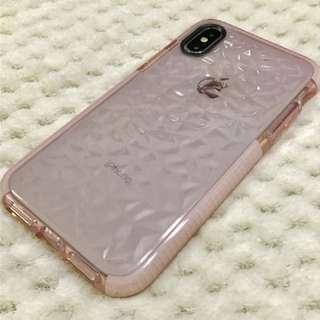 *九折* iPhone X 厚身半透明電話殼 Thick Semi Clear Phone Case