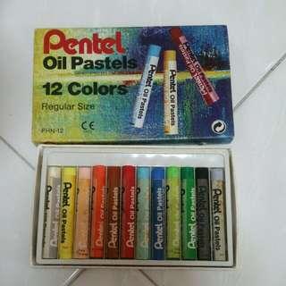 Oil Pastels Pentel