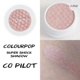 BNIB Colourpop Super Shock Shadow Eyeshadow Co Pilot - Valentines Day