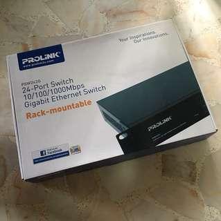Quick Deal! Prolink 24-Port Gigabit Ethernet Switch - PSW242G