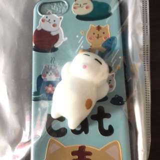 Squishy case cat iphone 7