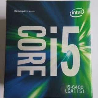 Intel Core i5 6400 CPU@2.70GHz x4 LGA 1151