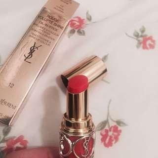 YSL lipstick 唇膏 12號色 全新 100%new