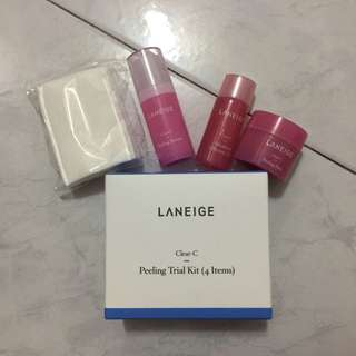 Laneige Clear-C Peeling Trial Kit