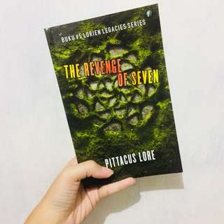 Lorien legacies: The Revenge of Seven