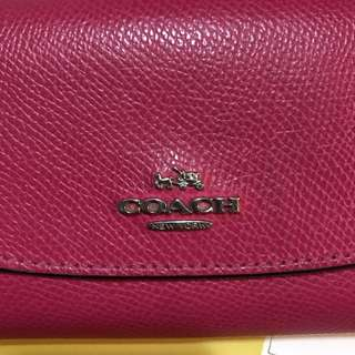 coach wallet (have defect)