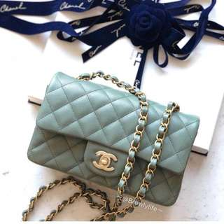 全新 2018 新色 Chanel Mini Flap Bag