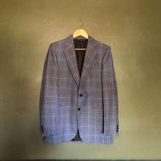 Prince of Wales Check Blazer (Pure wool)