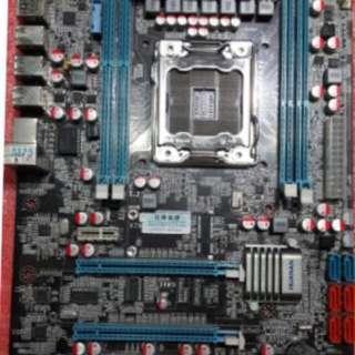 華南代工 X79大板 主機板