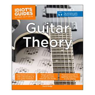 Guitar Theory (Idiot's Guides) BY David Hodge