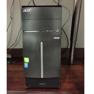 Acer CPU & Phillips Monitor (DESKTOP)