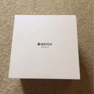 Apple Watch 3 38mm Stainless White Sport Band GPS Cellular