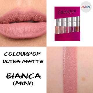 BN Colourpop Ultra Matte Lips Lipstick - Bianca UML